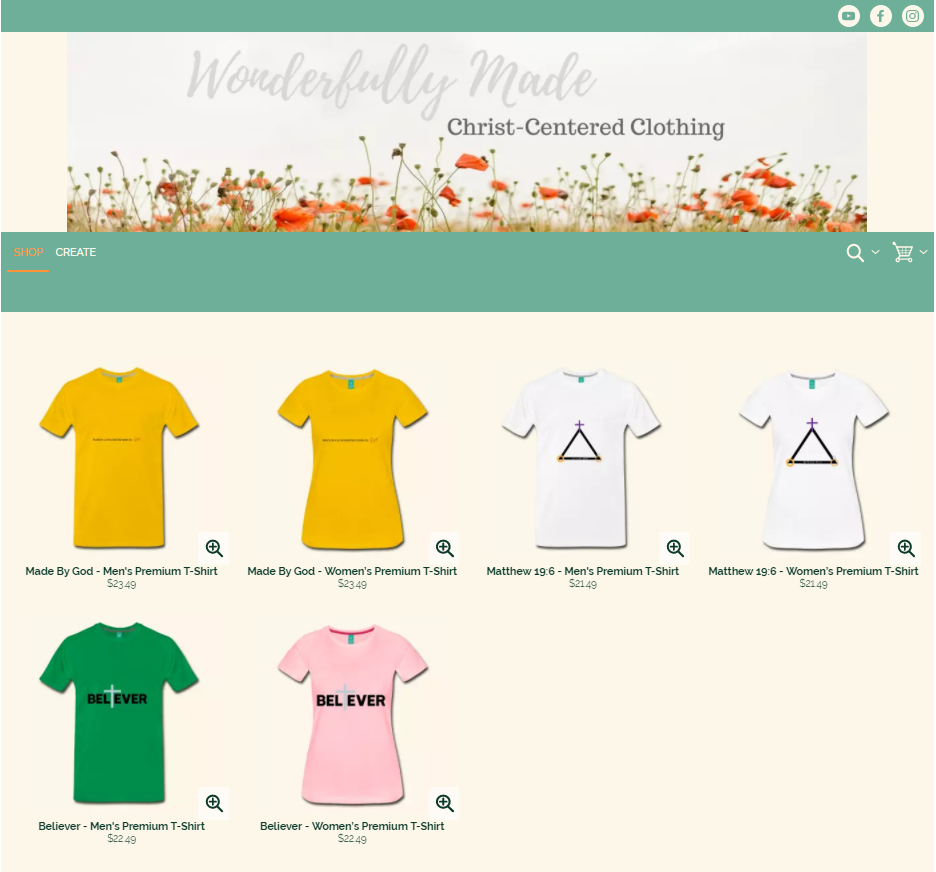 Wonderfully Made Clothing